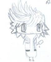 Roxas...but smaller by TopHat-And-Tentacles