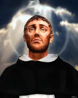 Saint Dominic of Guzman Ora Pro Nobis by DCJBeers