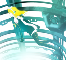 Kagamine Rin : MELTDOWN : by sakuyasworld