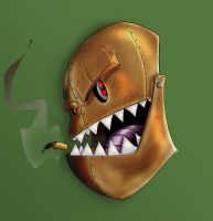 Dirty Evil Robot Smoker by Big-SWoD-industries