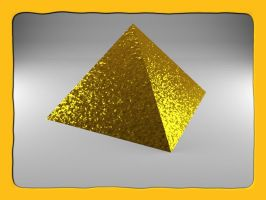 Gold Pyramid by Xothex