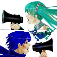 love is war miku+kaito by 1itt1e-1i