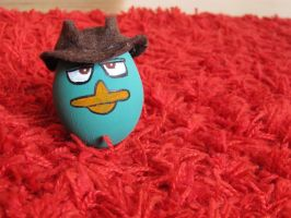 Agent P  (Easter egg) by ArtemisYan