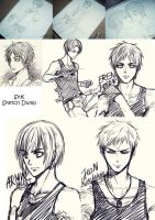 Snk Sketch Dump by saru-chikin