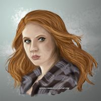Amy Pond by Kendra-candraw