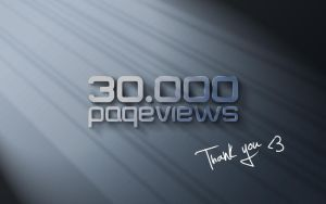 30.000 Page views. Thank you by dj-corny