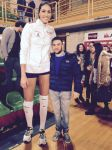 Tall Volleyball player compare by lowerrider