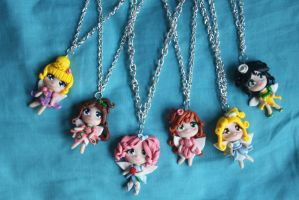 FIMO CREATIONS. FAIRIES by Phadme