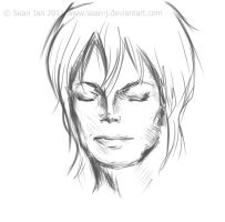 MJ Sketch by sean-J
