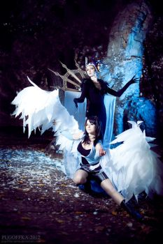 Edea and Rinoa by bellatrixaiden