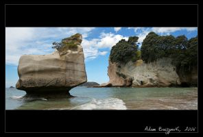 Cathedral Cove by Ildefonse