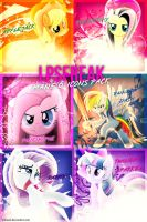 Mane 6 Icons by shaynelleLPS