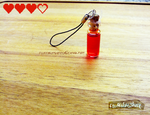 Drinkable Heart Potion Charm by FluffableSheep
