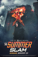WWE SummerSlam 2015 poster by Rzr316