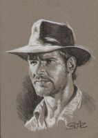 Indiana Jones by StazJohnson