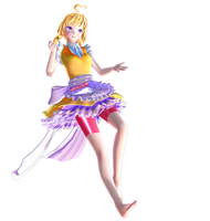 MMD X FNAF Toy Chica (WIP) by NicUIolo