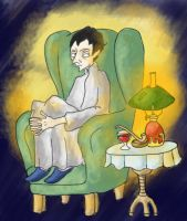 Holmes in a chair by elina-elsu