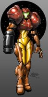 Samus by mase0ne