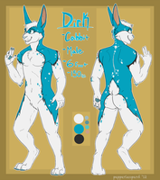 Com- Dirk Cabbit Ref Sheet by FiveSpice