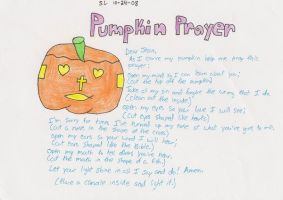 Pumpkin Prayer by MSKM2001