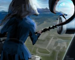 Too High Spitpaint by Pheoniic