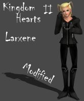KH2 Larxene Organization XIII Modified by Frozen-Knight