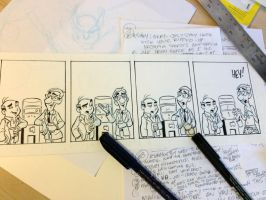 Outnumbered strip in progress by tombancroft