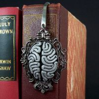 Brainy Cameo Bookmark by beatblack