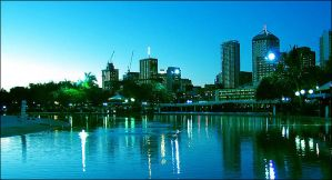 The Colours of Brisbane I by NyssaCreative