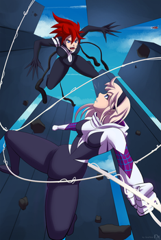 Spider Girl Gwen Stacy by draftkid