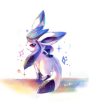 doodle: Tony the glaceon by kori7hatsumine