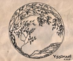 Yggdrasil by AntaresWolf