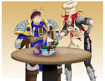 Katarina cooked for Garen! by Shouhda