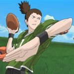 QB-Shikamaru with background by Geniusshinobi