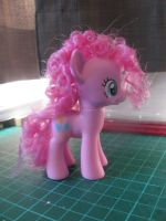 MLP:FiM Pinkie Pie Toy with Restyled Hair by x0xChelseax0x