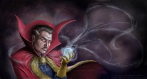 Doctor Strange: Within Us All by UtopianPictures