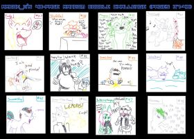 48-Page Free Random Doodle Challenge - Part 4 by Arbok-X