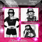 +4MINUTE | Photopack #001 by AsianEditions