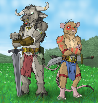 Warrior brothers by Salvestro