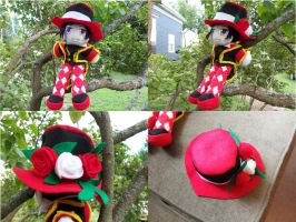 The Mad Hatter commands you! Come to my tea party! by MoonLightXAngel268