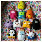 Adventure Time Christmas Ornaments by TiffyyyCuppyCake