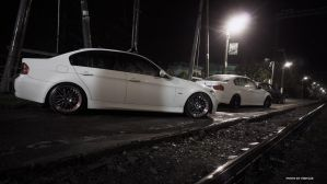 Slammed E90s 9 by BlackSelf91
