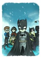 The Bat and Family by adhytcadelic
