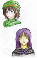 Two Young Mages by samuraXIV