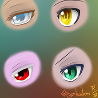 Special-Effects Eyes by Shadow-Rukario