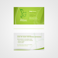Possum Music buisness card by JasonDu