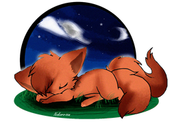 GA- Sleepy fox by Nekoro-san