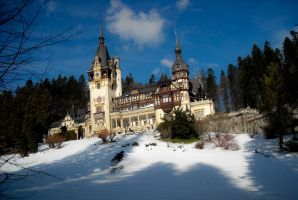 Peles Castle by Koneko31