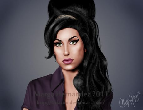 Amy Winehouse by Fiskitito