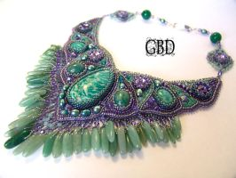 Sea Tale necklace by gbdreams